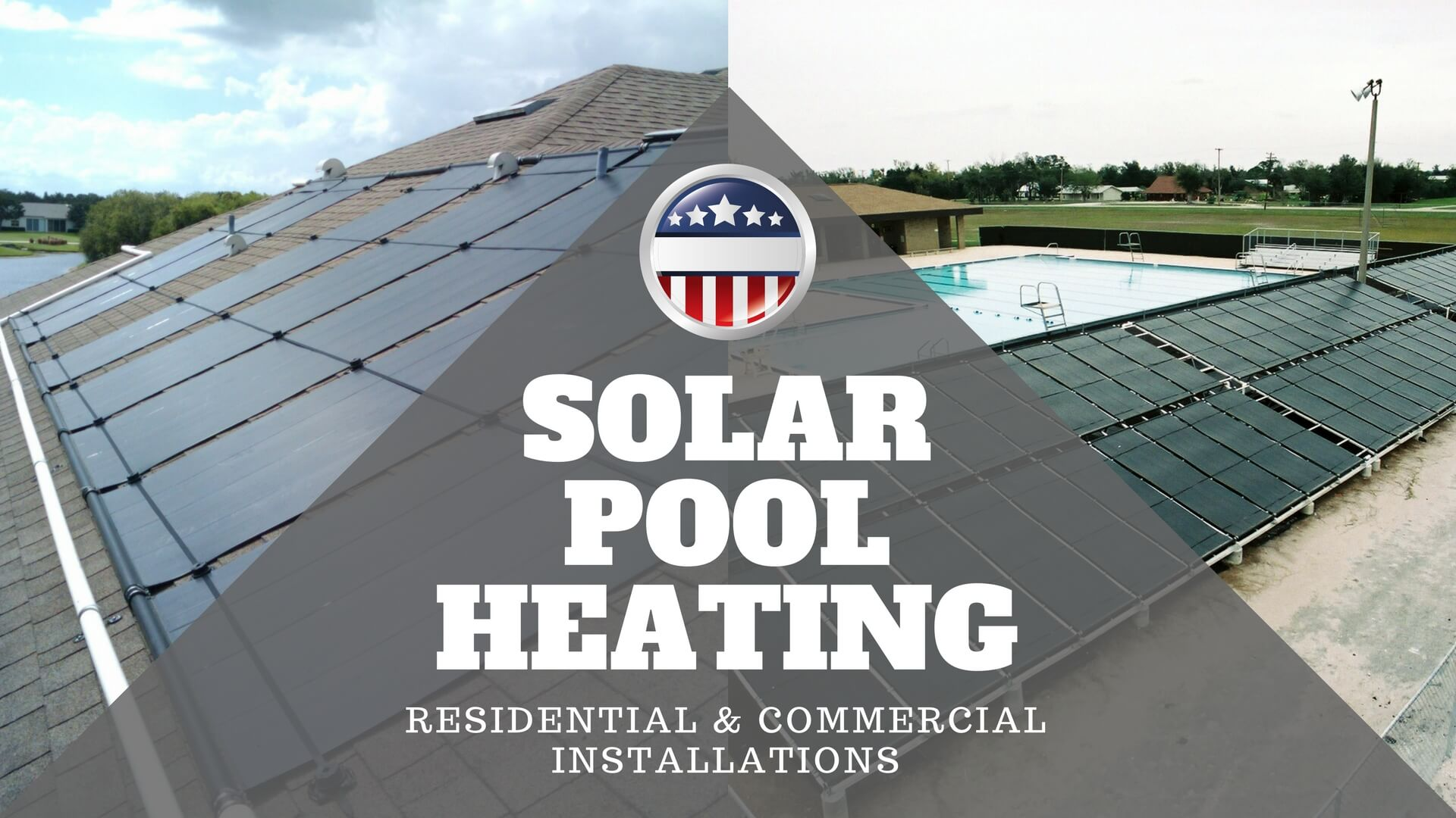 Solar Pool Heaters, Solar Pool Heating, Residential and Commercial Solar Electric Equipment and Installation Services